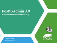 PostfixAdmin 3.0 - Mailserver Administration made easy